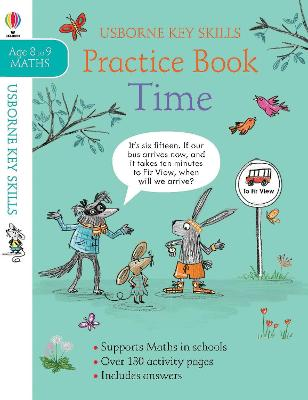 Time Practice Book 8-9 book