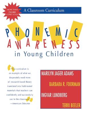 Phonemic Awareness in Young Children book