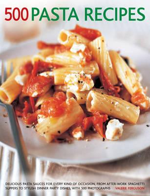500 Pasta Recipes book