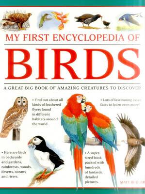 My First Encylopedia of Birds (Giant Size) by Bugler Matt