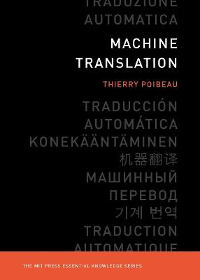 Machine Translation by Thierry Poibeau