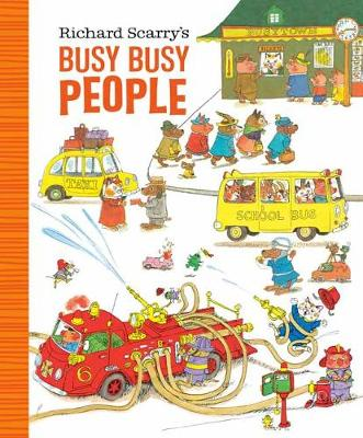Richard Scarry's Busy Busy People book