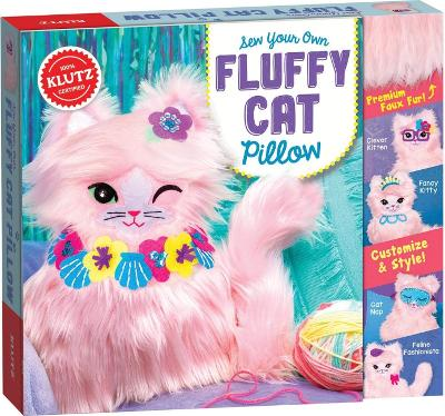 Sew Your Own Fluffy Cat Pillow by Editors of Klutz