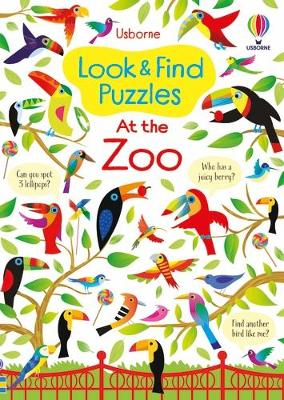 Look and Find Puzzles At the Zoo book