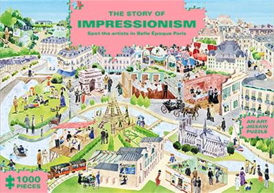 The Story of Impressionism (in 1000 piece Jigsaw Puzzles) by Marcel George