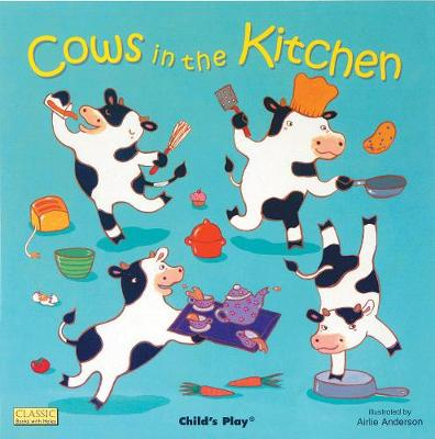 Cows in the Kitchen by Airlie Anderson