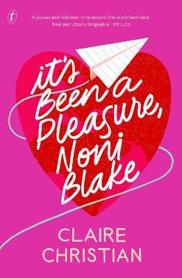 It's Been A Pleasure, Noni Blake book