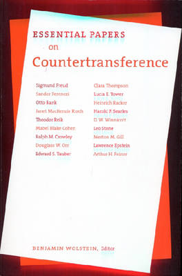 Essential Papers on Countertransference by Benjamin Wolstein
