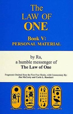 The Law of One Book V by Ra