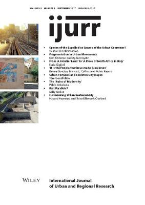 International Journal of Urban and Regional Research, Volume 41, Issue 5 by Maria Kaika