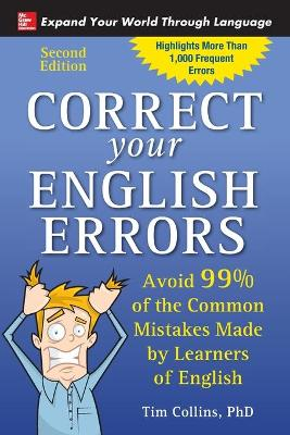 Correct Your English Errors, Second Edition by Tim Collins