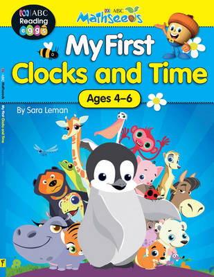 ABC Mathseeds - My First Clocks and Time book