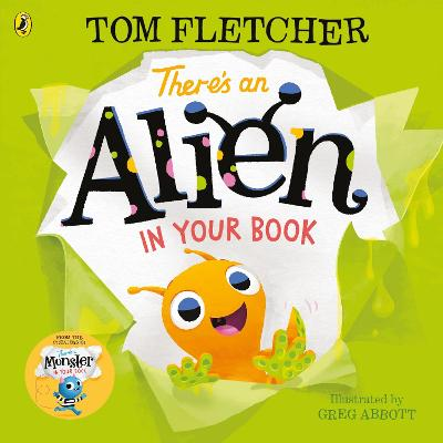 There's an Alien in Your Book book