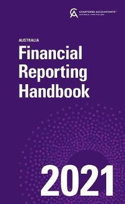 Financial Reporting Handbook 2021 Australia book