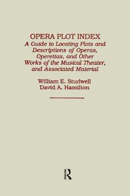 Opera Plot Index book