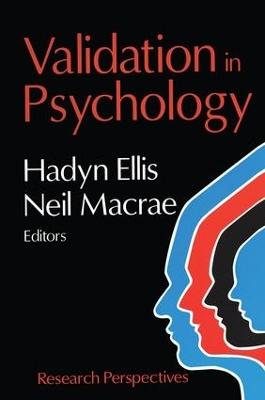 Validation in Psychology by Hadyn Ellis