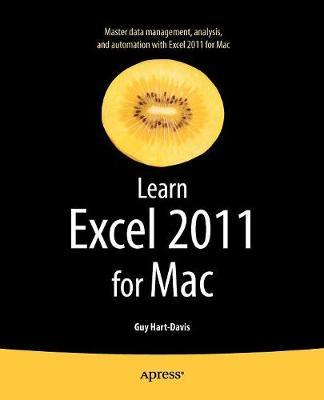 Learn Excel 2011 for Mac by Guy Hart-Davis