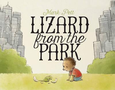 Lizard from the Park by Mark Pett