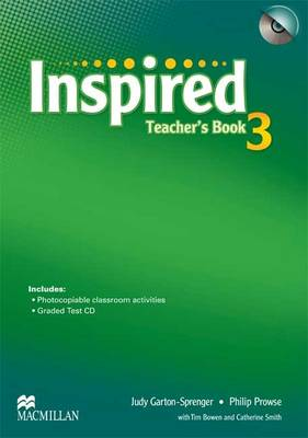 Inspired Level 3 Teacher's Book Pack by Philip Prowse