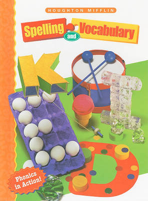 Spelling and Vocabulary by Shane Templeton