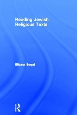 Reading Jewish Religious Texts book
