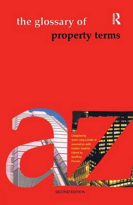 The Glossary of Property Terms by Geoffrey Parsons