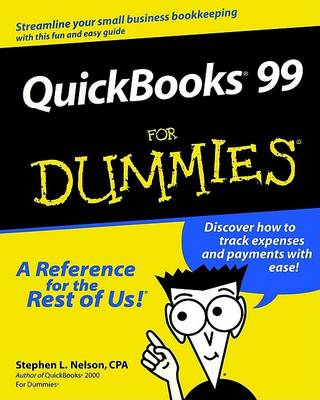 QuickBooks 99 For Dummies by Stephen L. Nelson