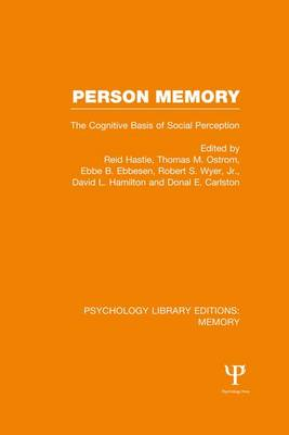 Person Memory by Reid Hastie