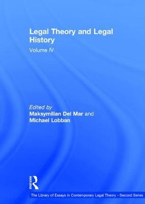 Legal Theory and Legal History by Professor Charles Rickett