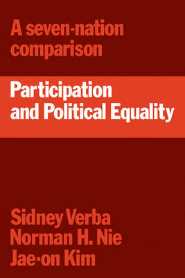Participation and Political Equality by Sidney Verba