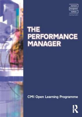 Performance Manager CMIOLP by Kate Williams