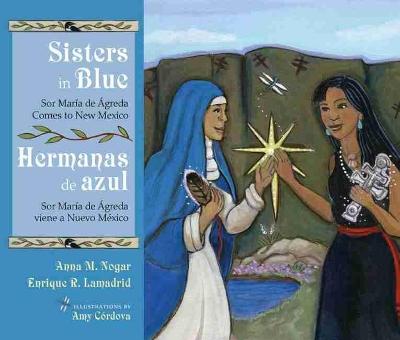 Sisters in Blue/Hermanas de azul by Anna M. Nogar