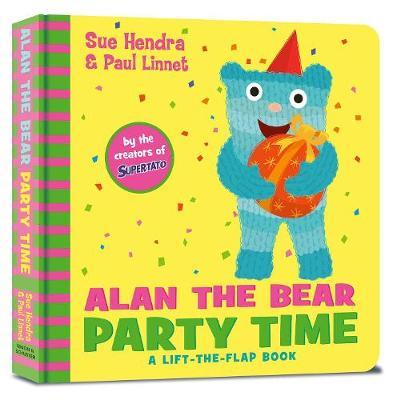 Alan the Bear Party Time book