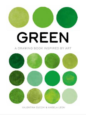 Green: A Drawing Book Inspired by Art book