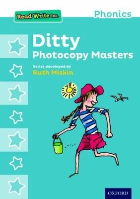 Read Write Inc. Phonics: Ditty Photocopy Masters book
