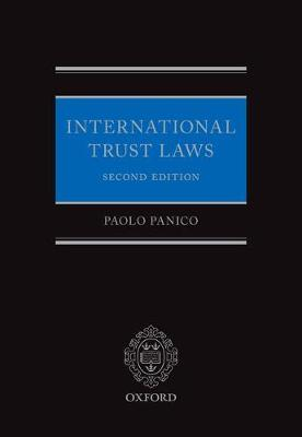 International Trust Laws by Paolo Panico