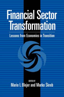 Financial Sector Transformation book