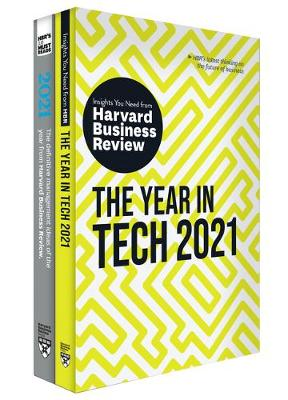 HBR's Year in Business and Technology: 2021 (2 Books): 2021 (2 Books) book