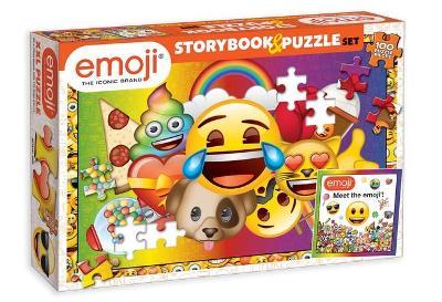 Emoji: Storybook & Puzzle Set book