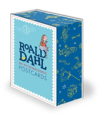 Roald Dahl 100 Phizz-Whizzing Postcards book