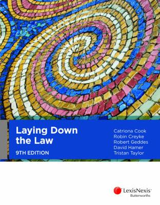 Laying Down the Law by Catriona Cook