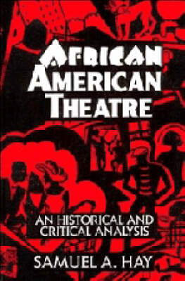 African American Theatre book