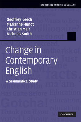 Change in Contemporary English by Geoffrey Leech