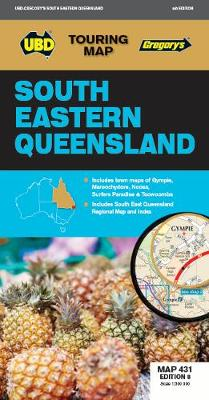 South Eastern Queensland Map 431 8th ed by UBD Gregory's