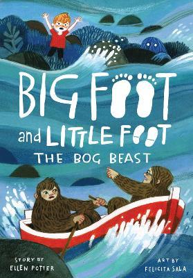 The Bog Beast (Big Foot and Little Foot #4) by Ellen Potter