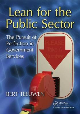 Lean for the Public Sector book