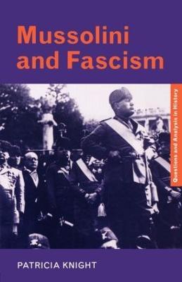 Mussolini and Fascism book