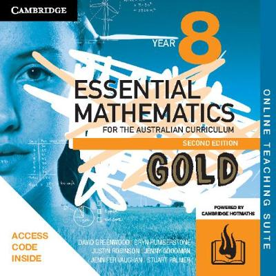 Essential Mathematics Gold for the Australian Curriculum Year 8 Online Teaching Suite (Card) by David Greenwood