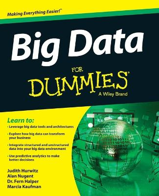 Big Data For Dummies by Judith Hurwitz