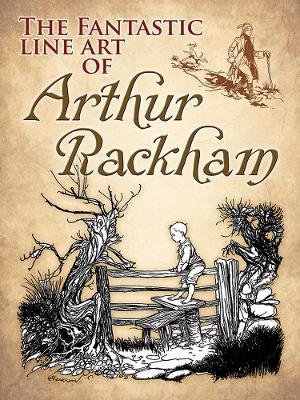 Fantastic Line Art of Arthur Rackham book
